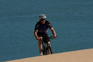 Leander, our mountain bike guide in Namibia