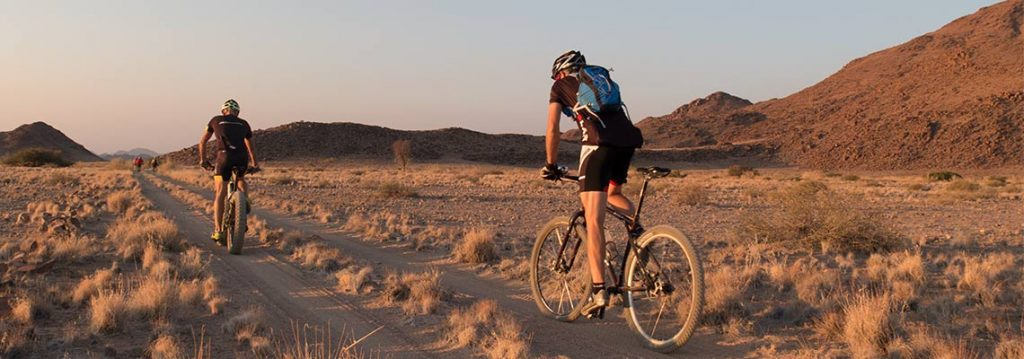 Meet your mountain bike guide in Namiba