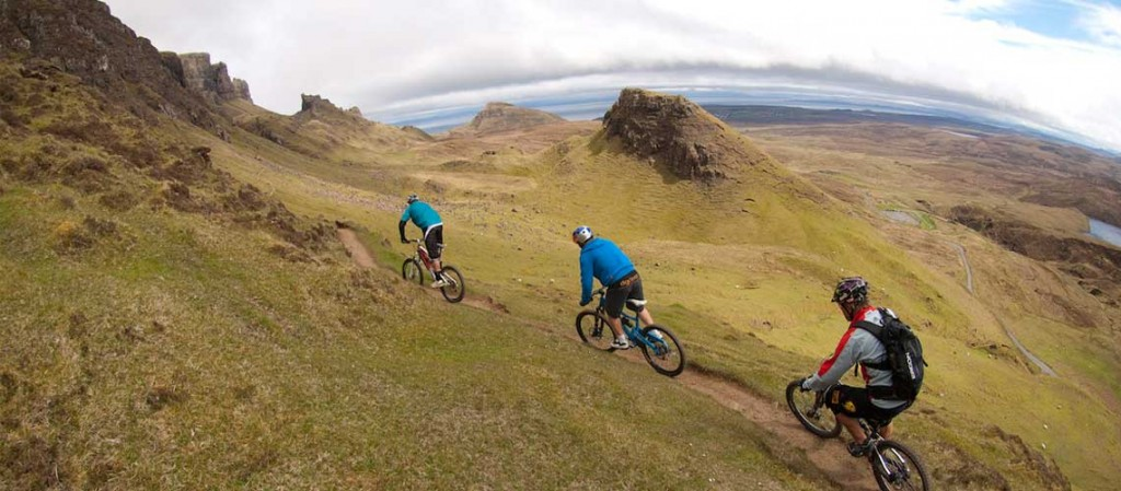 Mountain biking Isle of Skye Scotland with H+I Adventures, Danny Macaskill Scotland video