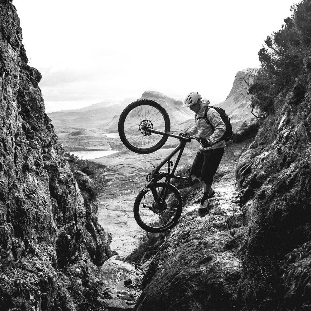 Meet Chris, your mountain bike tour guide in Scotland