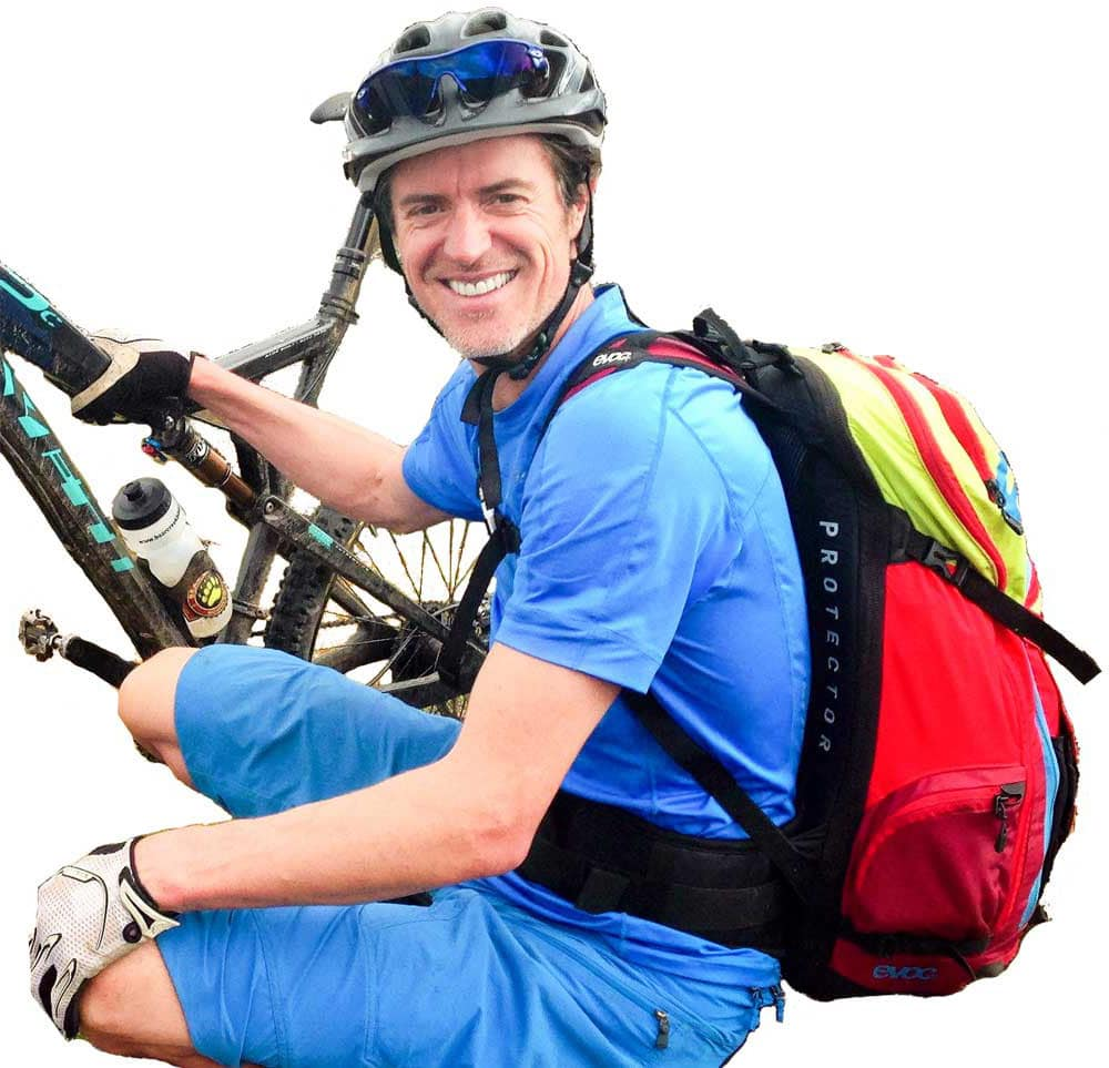Meet Alex your mountain bike tour guide in Scotland