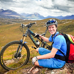 Alex - local mountain bike guide in Scotland