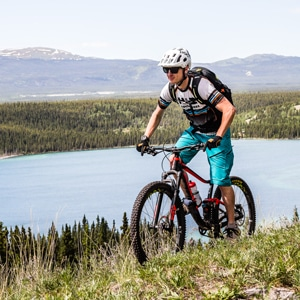 mountain bike tour guides - David, Yukon