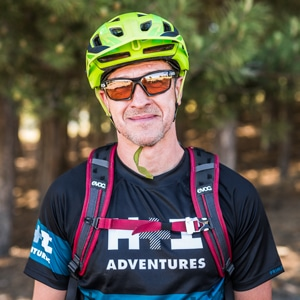 Mountain bike guide Spain portrait