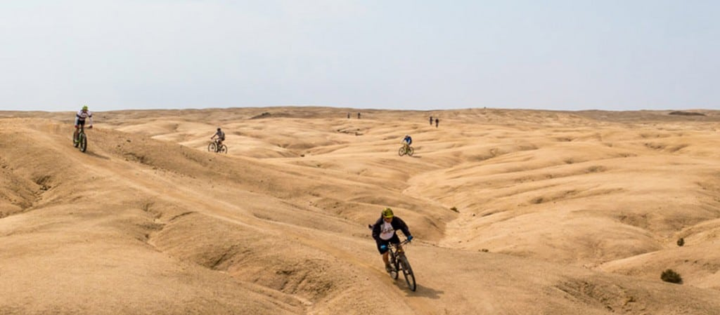Mountain bike Africa, Namibia: Photo gallery, riding the sand dunes