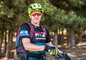Mountain bike tour Spain guide Javier Morcillo