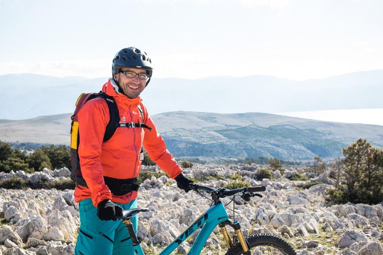 Meet Danijel your mountain bike guide in Croatia