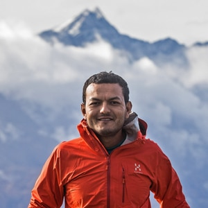 MTB guide Nepal, Mandil