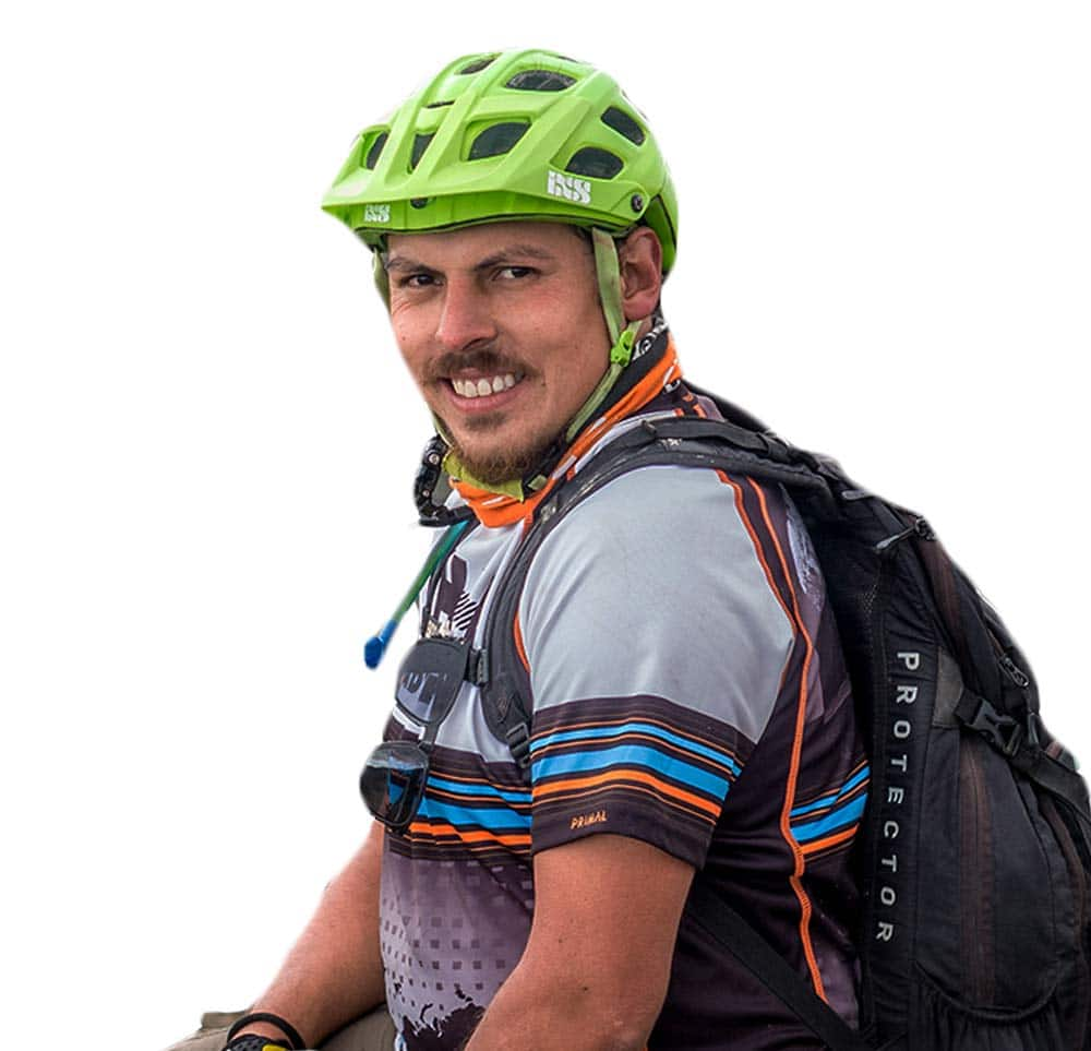 José Jijon, mountain biking guide in Ecuador