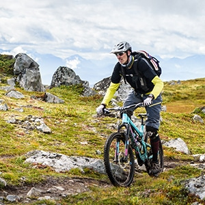 Ole Tangen, mountain bike guide in Norway with H+I Adventures