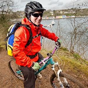 Mountain bike guide in Scotland Kevin Henderson