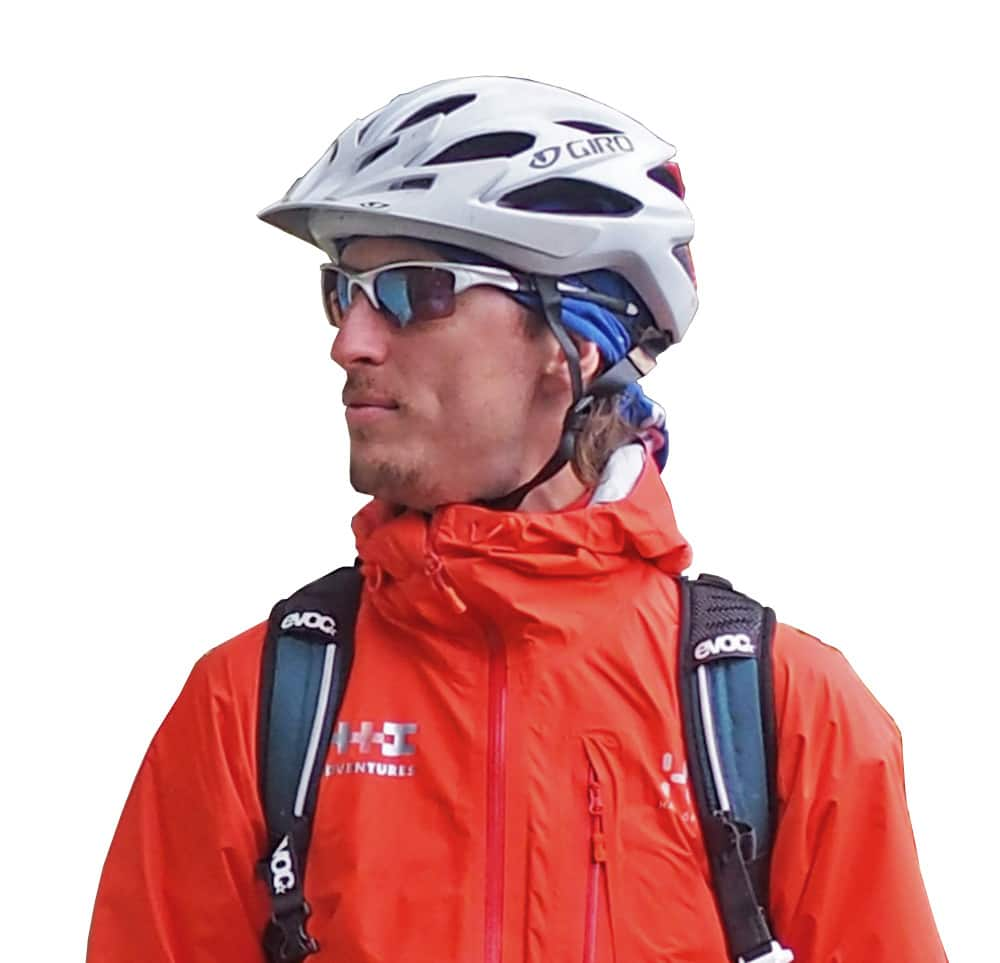Meet Dave your mountain bike tour guide in Canada