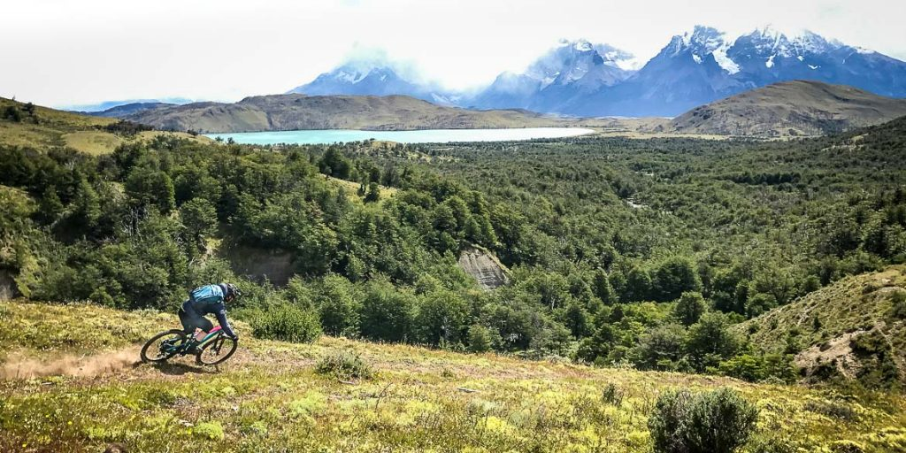 Descending with the Trail Hunter in Patagonia