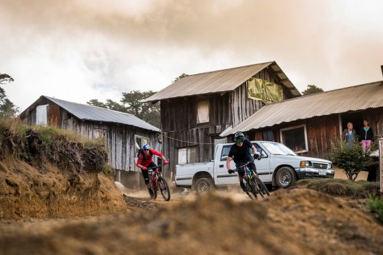 Our Mountain bike tour Chile passes through small villages