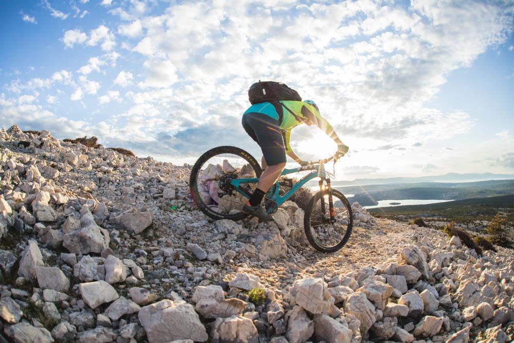 Enjoy riding in golden sunlight in our Croatia Mountain Bike Tour.