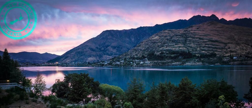 24 hours in Queenstown, New Zealand, lake view