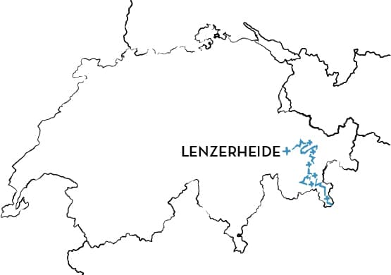 Trans-Graubünden Route Map
