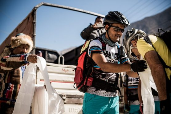 Mountain bike tour Nepal - khata