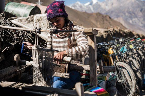 Mountain bike tour Nepal - local traditions