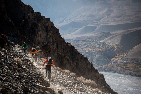 Mountain bike tour Nepal - finding the flow