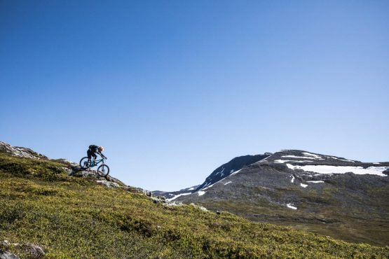 Mountain bike tour Norway - rocky descents
