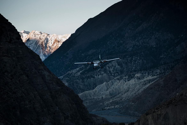 Essence of mountain biking in Nepal - breathtaking flights