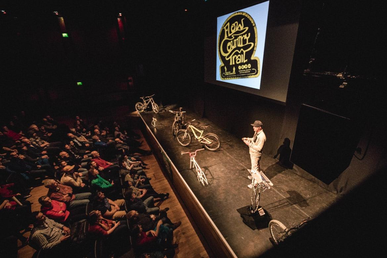 Hans Rey talk at Eden Court, Inverness.