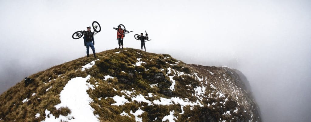 Joe Barnes, Max Schumann, and Euan Wilson on a ride out west in Scotland.Joe Barnes, Max Schumann, and Euan Wilson on a ride out west in Scotland.