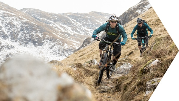 Riding with Hans Rey - join our Scottish coast-to-coast
