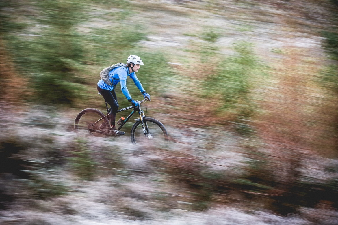 Alex Glasgow, Plockton mountain biker