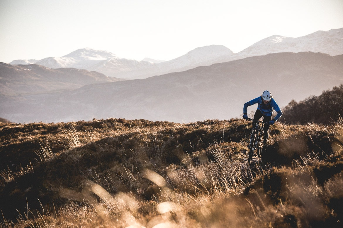 Alex Glasgow, Plockton mountain biking