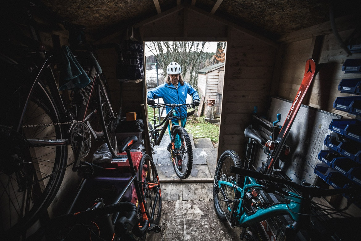 Jono Baldwin at home in the Cairngorms