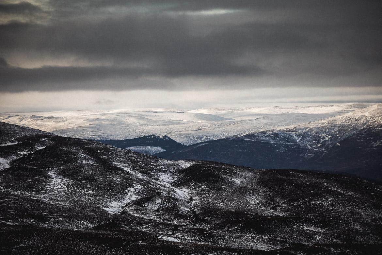 Jono Baldwin, Cairngorms view