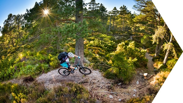 Paying back - Riding the Cairngorm trails