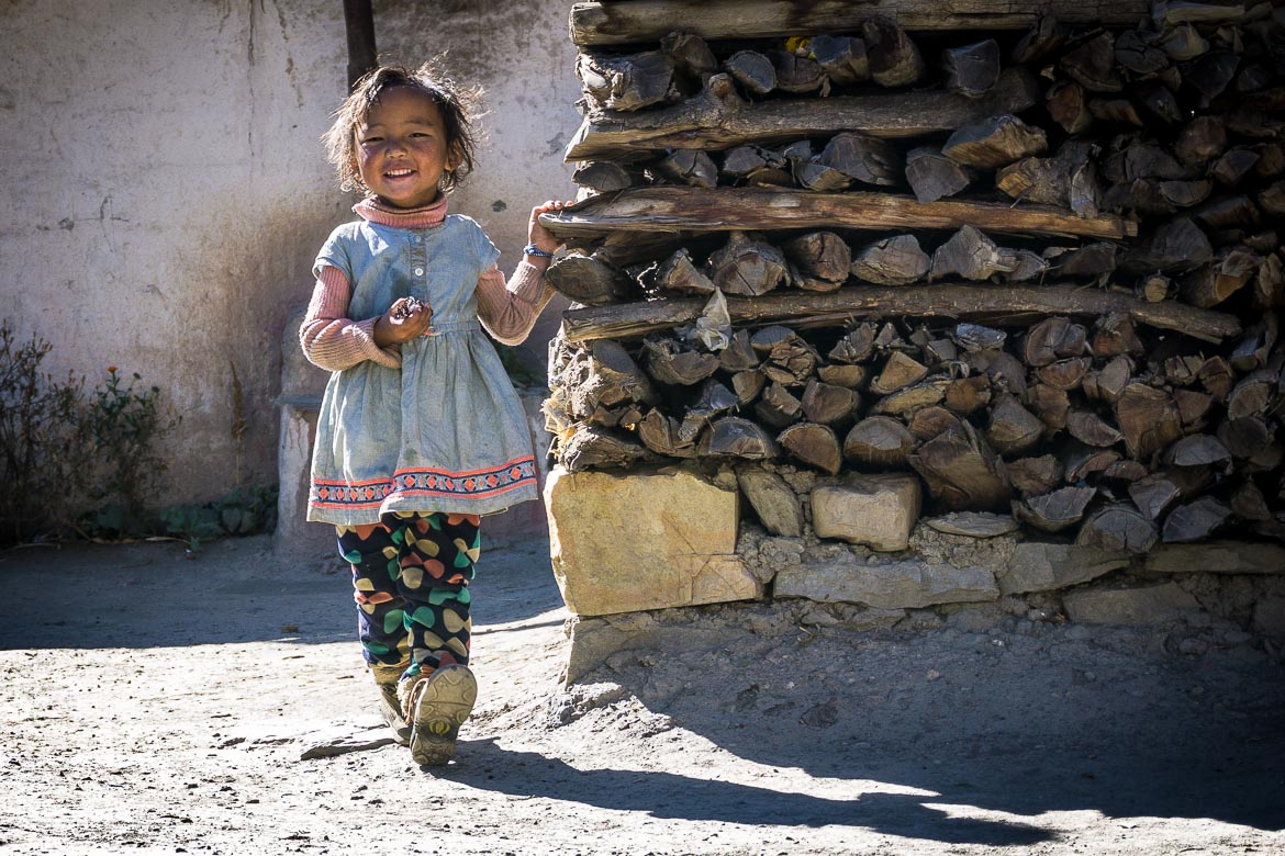 Mustang Valley, Nepal - friendly local faces