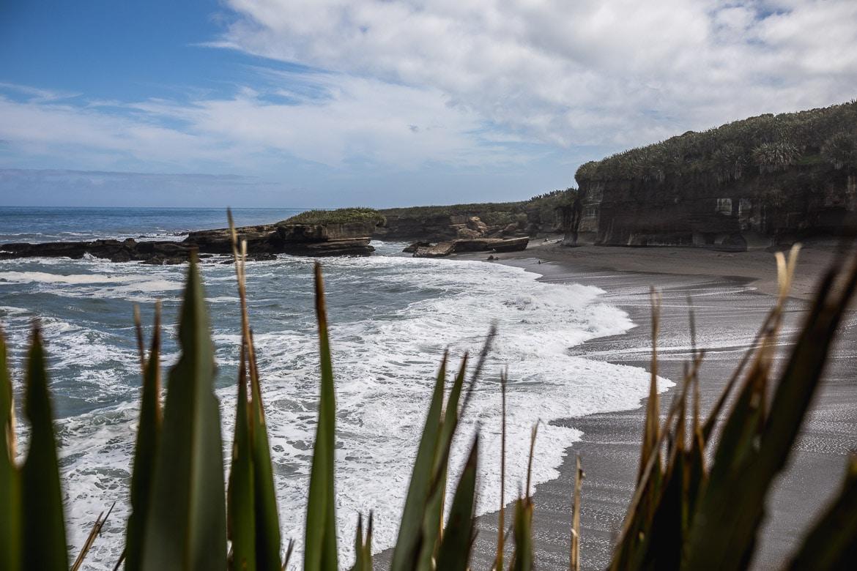 The West Coast of New Zealand during the International Yeti Tribe New Zealand mountain bike tour.