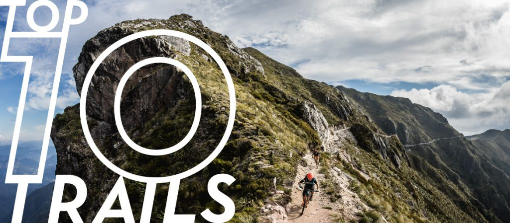 Top 10 mountain bike trails across the globe
