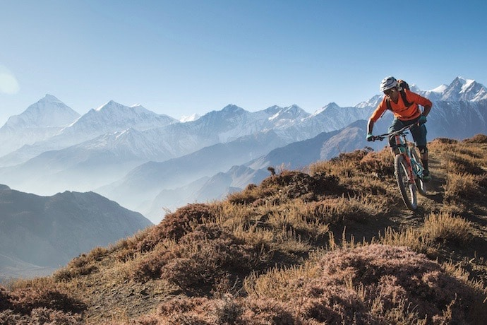 mountain bike tours in Nepal with RJ Ripper