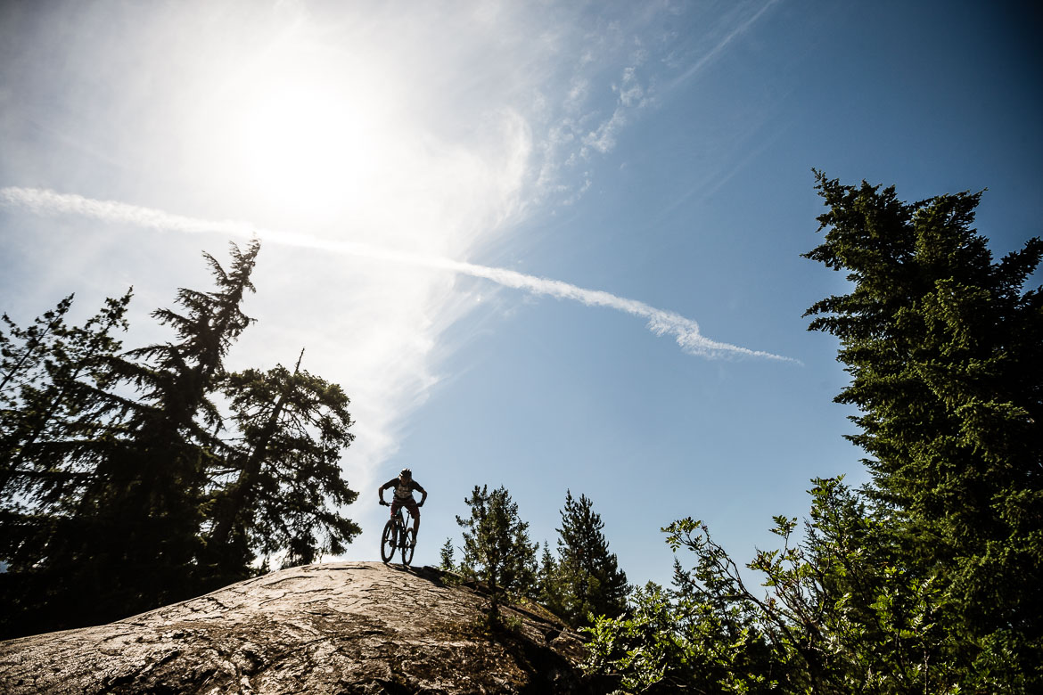 A massive rock roll on our British Columbia in photos trip