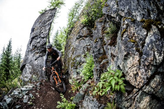 Rock squeeze in BC, Canada but scotty making it look easy
