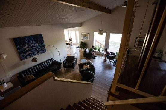 Our mountain bike vacation lodge offers style and comfort in the Yukon