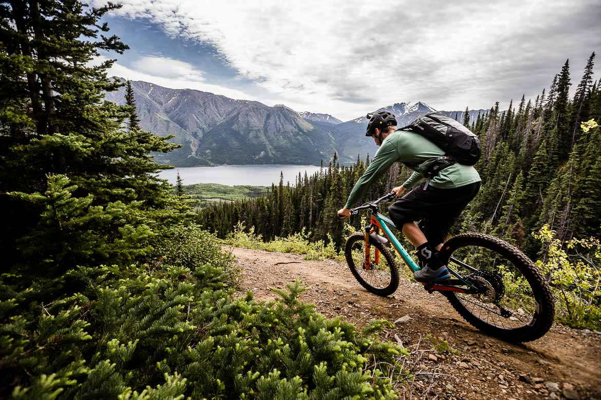 The Yukon in photos throws up epic mountain bike images at every turn