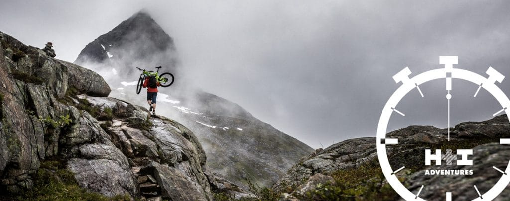 how to hike a bike - top tips from the #MTB Minute