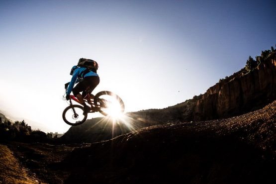 Sending singletrack MTB trails on our Mountain bike vacation Morocco, Africa