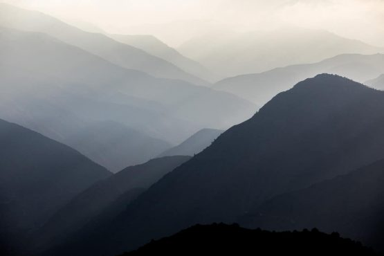 Our MTB tour Morocco and its High Atlas evening landscape