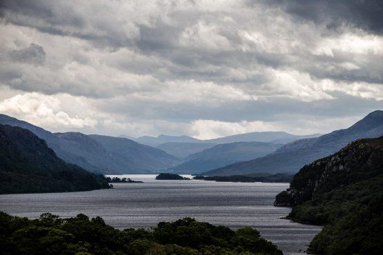 Epic views on our coast-to-coast Scotland mountain bike holiday