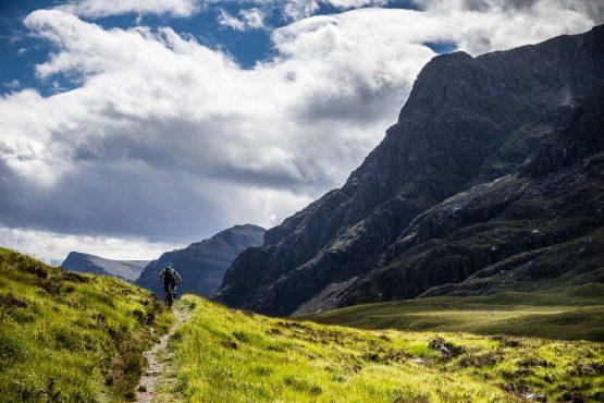Riding in wild glens on the coast-to-coast Scotland MTB adventure