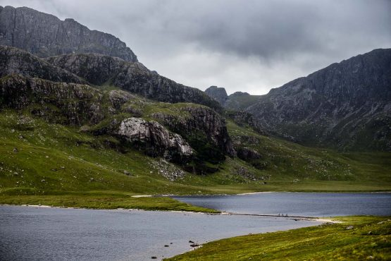 finding ways across the water on the coast-to-coast Scotland mountain bike tour