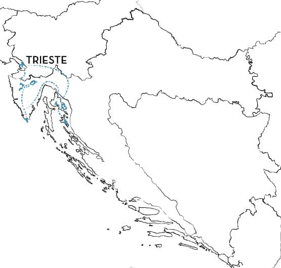 Mountain Bike Tour Croatia Route Map