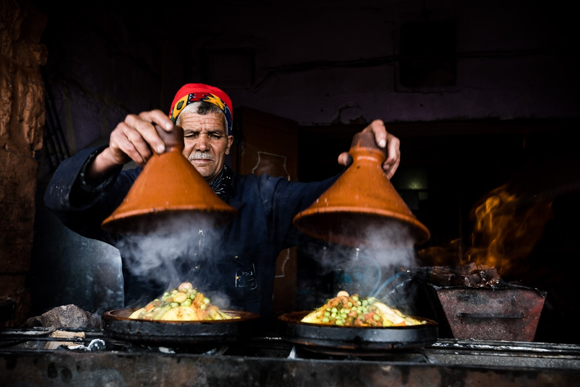 MTB tour Morocco in photos - local cuisine